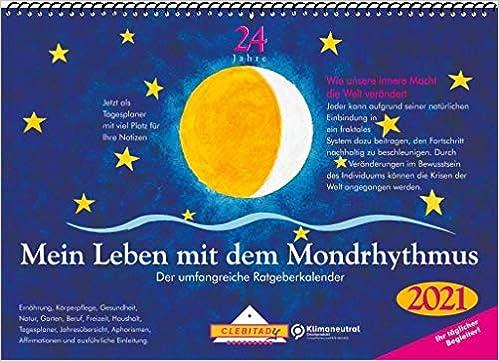 Mein Leben Mit Dem Mondrhythmus 2021 Aufstellkalender Amazon De Stadig Edith Bucher
