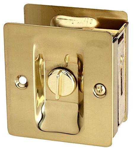 Stanley National S837-559 Pocket Door Latch Classic Solid Brass