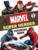 Marvel Super Heroes Coloring Book: Great Coloring Book for Kids Ages 4-8