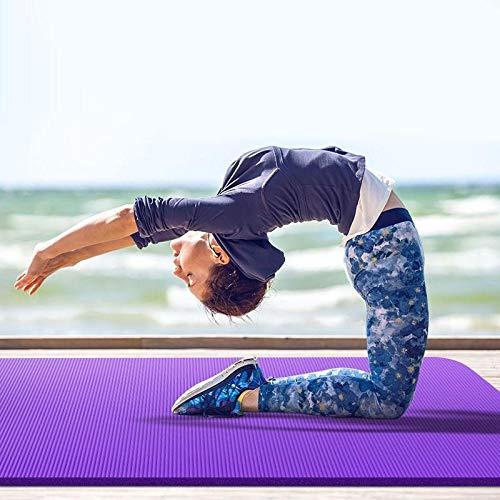 Yoga Mat 20 mm extra gruesa de alta densidad corrugado cojín ...