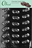 Cybrtrayd Life of the Party AO030 Peanuts Chocolate Candy Mold in Sealed Protective Poly Bag Imprinted with Copyrighted Cybrtrayd Molding Instructions