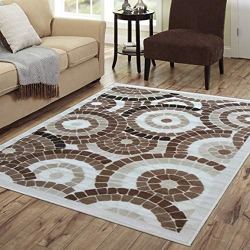 SavaHome AD10112 Non-Slip Rubber Back Extremely Durable Anti-Slip Water Resistant Floor Mat for Kitchen Hallway Entrance Doormat Home Décor Smooth Rug Type Thin Runner Mat (Best Type Of Rug For Kitchen)