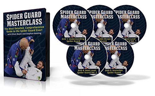 BJJ Spider Guard Masterclass, a Step-by-Step Gameplan to Building an Effective, Aggressive Guard Game for Brazilian Jiu-Jitsu