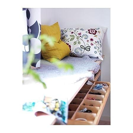 Amazon.com: IKEA ALVINE Flora Cojín Almohada Cover + plumas ...