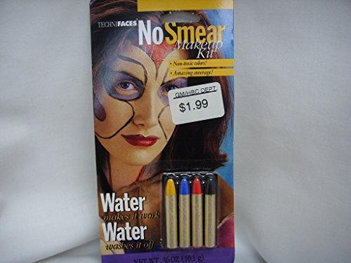 Halloween Face Paint Makeup Kit No Smear]()