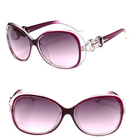 Yangjing-hl Gafas de Sol graduadas de Gran tamaño para Mujer ...