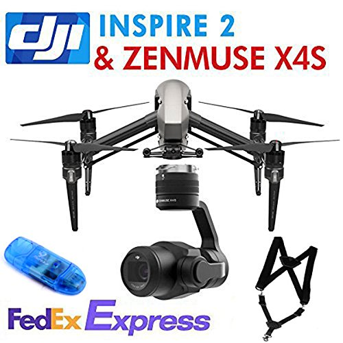 DJI-INSPIRE-2-Drone-QuadCopter-52K4K-1080-P-Inspire-2-Accessories-ZENMUSE-X4SShoulder-Strap-SD-Reader