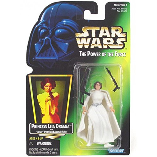 Star Wars Power of the Force Princess Leia Organa Green Card Action Figure