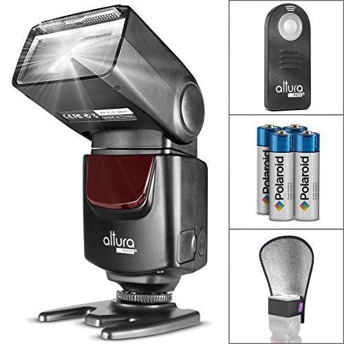 Altura Photo AP-UNV1 Bundle – DSLR Camera Flash Speedlite for Canon Nikon from Altura Photo