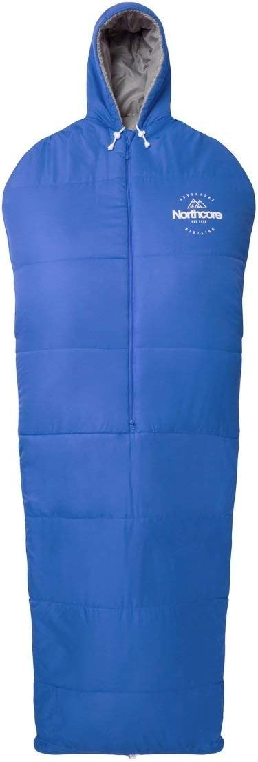 Northcore Sleepwalker Schlafsack in Blau