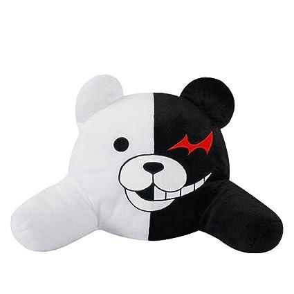 Amazon.com: Lluvia de pan Anime Blanco y Negro Oso de ...