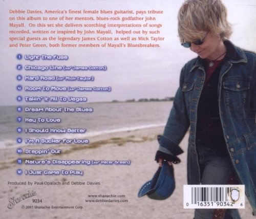 Debbie Davies - Key to Love-Celebrating the Music of John Mayall - Amazon.com Music