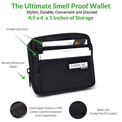 Amazon.com: Formline Bolsa a prueba de olor y cartera ...