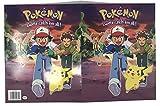 Nintendo Pokemon Pikachu 2 Pocket Folders 2 Set