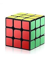 ROXENDA 3x3 Magic Cube, Professional 3x3x3 Speed Cube - Enkel Vridning och Smidigt Spel, Supertålig Klistermärke med Levande Färger