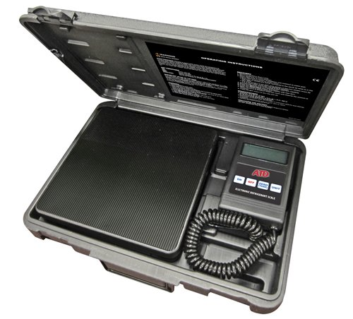 ATD Tools 3637 Electronic Refrigerant Charging Scale