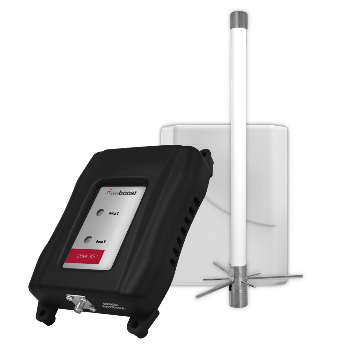weBoost Drive 3G-X Marine Antenna Signal Booster – For Universal/Smartphones – 12V DC Power Supply