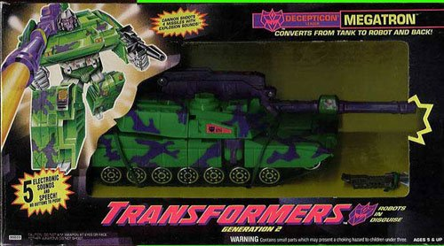 Transformers Generation 2 G2 Megatron Decepticon Leader for sale  Delivered anywhere in USA