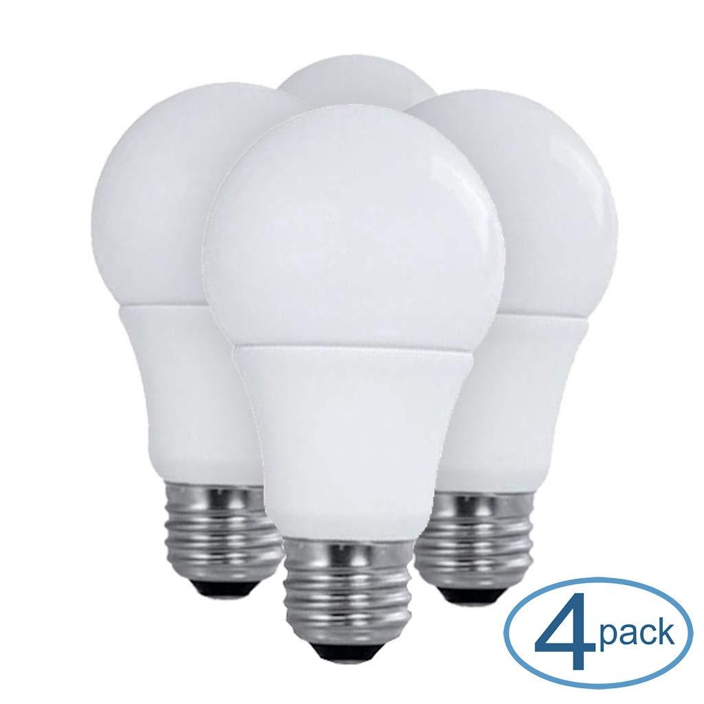 Satco 28790-15.5A19//LED//50K//ND//120V//4PK S28790 A19 A Line Pear LED Light Bulb
