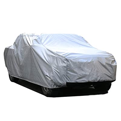 """Kayme 6 Layers Truck Cover Waterproof All Weather, Heavy Duty Outdoor Pickup Cover Sun Uv Rain Protection, Universal Fit (Length Up to 228"""") L: Automotive"""