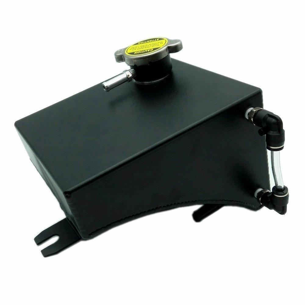 Heinmo aluminum Black refrigerante overflow serbatoio kit per 240SX S13 SR20DET KA24DE Heinmo Plus
