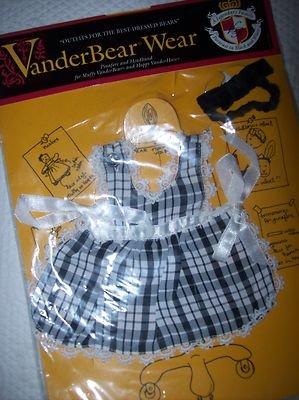 VanderBear Wear Pinafore and - North Bear Toddler Doll American
