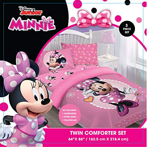 Comforter Set - Minnie Bowtiful Dreamer Twin ()