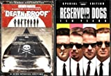 Quentin Tarantino's Bundle: DEATH PROOF / RESERVOIR DOGS (2 Great Movies ~ Both 2-DVD Special Editions!)