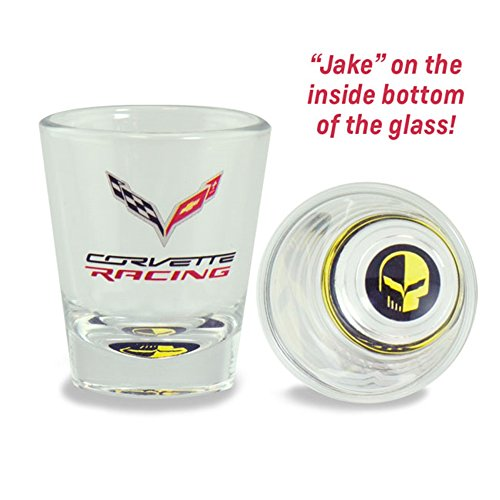 C7 Corvette Racing - Jake Skull : 1.75 oz. Shot Glass