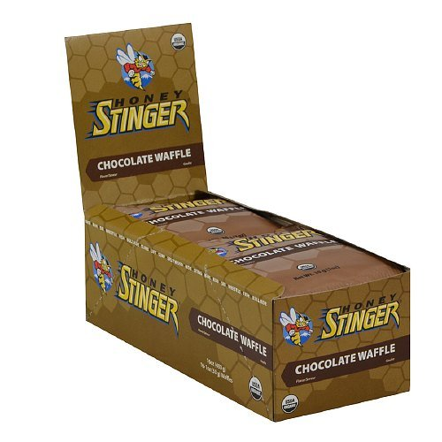 Honey Stinger Nutrition Pure Natural Energy Waffles, Chocolate 16 Ea