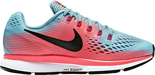 Scarpa Da Corsa Nike Womens Air Zoom Pegasus 34 (blu / Rosa, 6.5)