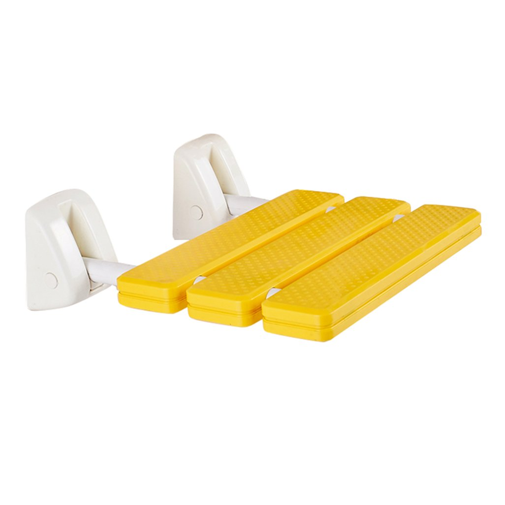 国内最安値! WYT-0909 バスルーム用 折りたたみ式の壁のスツールバスのスツールABSの浴室のシャワースツール折りたたみ式の椅子アイルの椅子の壁の高齢者 B07FLZC87D/障害者アンチスリップシャワーの椅子ステンレススチールのベースシャワーシートスツール重い人のためのイエローシャワースツールで利用可能最大。 200kg バスルーム用 200kg B07FLZC87D, エストアガーデン:5ee47dab --- muniz.pro.br