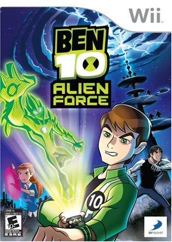 Ben 10 Alien Force - Nintendo Wii (Jewel case) Ben 10 Alien Force