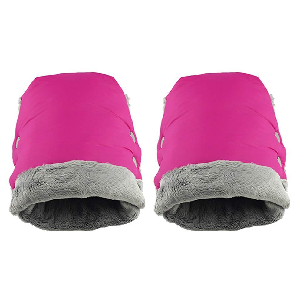 Gants /épais manchonnette Accessoire imperm/éable pour Landau Monbedos Gants dhiver Chauds pour Poussette et Poussette