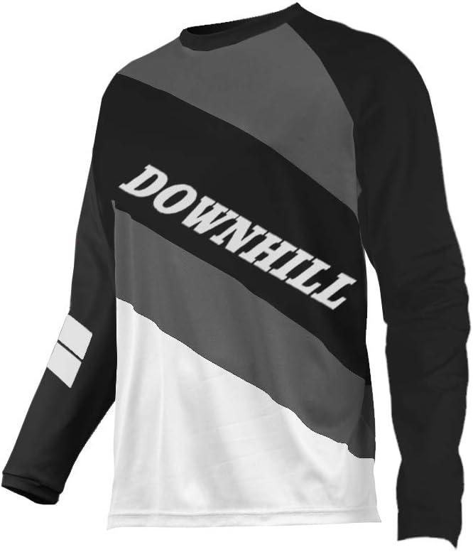 Uglyfrog Designs Erwachsener Motocross Jersey Thermo Fleece Winter Cross Offroad Enduro Downhill Shirt Atmungsaktiv Lange /Ärmel Rundhalsausschnitt or V-Ausschnitt