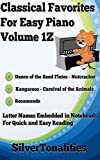 Classical Favorites for Easy Piano Volume 1Z