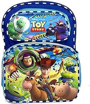 "UK 16/"" 3D Cartoon Toy Story 4 Backpack Schoolbag Travel Rucksack Bags Kids Gift"