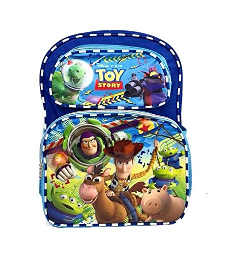 "Disney Toy Story Backpack 16"", Rolling Backpack 16"" & Lunch Bag 8"""