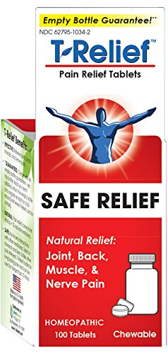 Dogs 100 Tabs - T-Relief Pain Relief, 100 Tablets