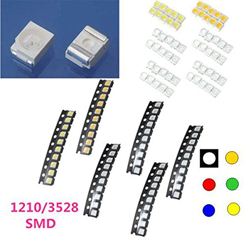 Led Strip Accessories - Led Diode Smd Surface Mount Chip 1 Watt 5630 Smt 3v - 10 Pcs 1210/3528 Colorful Smd Smt Led Light Lamp Beads For Strip Lights -