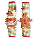 Gingerbread Handle Covers - Set of 2