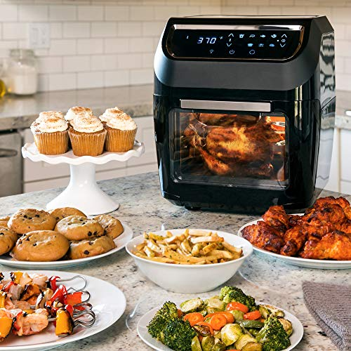 11 6qt Deep Fryers 1700w 8 In 1 Electric Xl Air Oven