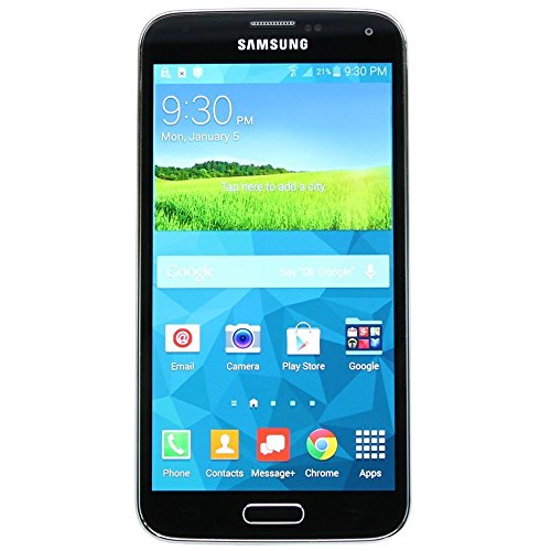 samsung galaxy s5 sm g900t 16gb black gsm unlocked. Black Bedroom Furniture Sets. Home Design Ideas