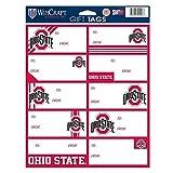 NCAA Ohio State Buckeyes Gift Tag Sheet