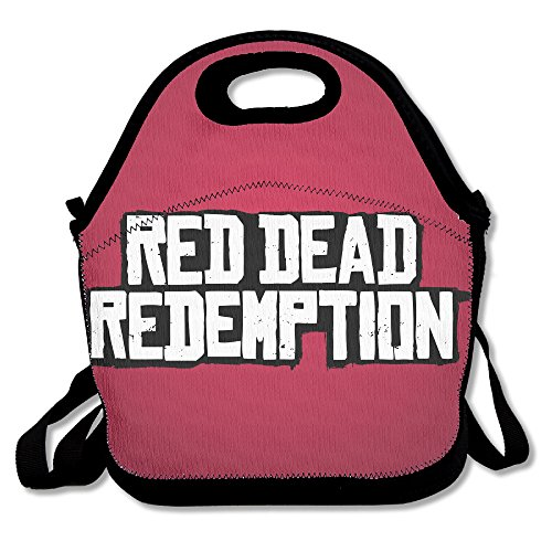 CMCM Red Dead Redemption LOGO Lunch Bag/Lunch Box/Bento Bag