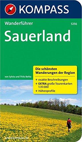 Sauerland: Wanderführer mit Tourenkarten und Höhenprofilen (KOMPASS-Wanderführer, Band 5256)