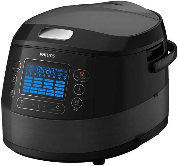 Philips HD4749/70 Olla Multi-cocción 5 L 890 W Negro - Ollas Multi-cocción (5 L, 890 W, 24 h, Negro, De plástico, LED): Amazon.es: Informática