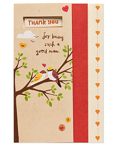 American Greetings Good Man Birthday Greeting Card for Husband with Foil