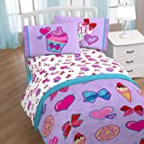 Nickelodeon JoJo Siwa Bowlicious 3 Piece Twin Sheet Set (Official JoJo Siwa Product)