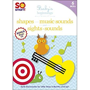 Amazon.com: So Smart! Baby's Beginnings: Sights & Sounds / Shapes ...